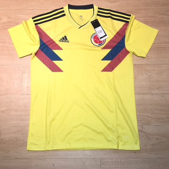 ... Adidas Colombia Home Jersey 2018 official photos 92719 69c54 ... b0770fe38